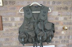 Mil-Tec Tactical Vest 9-Pockets Military Army Combat Webbing, as new in Lakenheath, UK