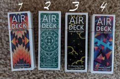 Air Deck PLAYING CARDS in The Woodlands, Texas