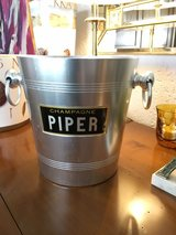 vintage french Piper Champagner bucket in Ramstein, Germany