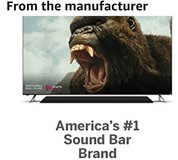 """VIZIO 36"""" 2.1 Sound Bar with Built-in Dual Subwoofers in Beaufort, South Carolina"""
