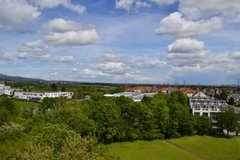 3 BR, 2 bath penthouse apartment - 13 mi to Clay in Wiesbaden, GE