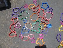 Play-Doh molds and cookie Cutters Collection Cutters 80 Pieces. in Miramar, California