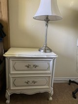 Night stand and lamps in Camp Pendleton, California