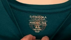 (2) (WEEKEND TEE) SHIRTS BY SONOMA - MEN'S in Quantico, Virginia