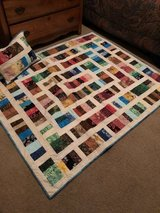 Quilt with matching pillow in Wilmington, North Carolina