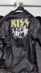 kiss leather jacket Large is also for women in Fort Knox, Kentucky