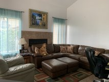 Leather sectional in Camp Pendleton, California