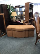 Upholstered Ottoman / Storage Bench in Quad Cities, Iowa