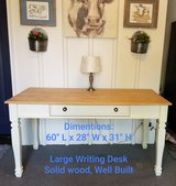 Large Solid wood desk in Algonquin, Illinois