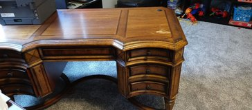 Desk made from real wood in Joliet, Illinois