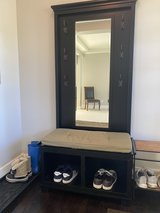 Entry Coat Rack Unit with Bench in Fort Lewis, Washington
