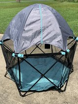 Summer Infant indoor/outdoor play yard with canopy in Fort Polk, Louisiana