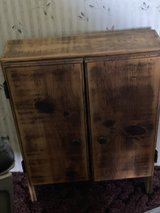 solid wood hanging/standing cabinet in Fort Polk, Louisiana