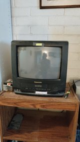 TV w/vhs built-in player in Fort Bliss, Texas