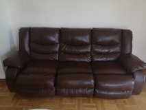 Living Room Couch/Recliner in Hohenfels, Germany