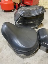 Harley Davison Heritage  soft tail seat/saddle bags in The Woodlands, Texas