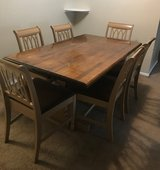 Wood table and chairs in Fort Polk, Louisiana