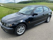 BMW 316 ti compact AC sunroof new inspection free delivery in Hohenfels, Germany