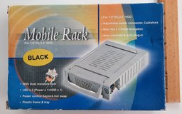 """Mobile Rack ST-1122A133 FOR 1 Inch H 3.55"""" HDD Black in Miramar, California"""