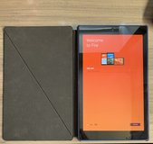 Amazon Fire HD tablet, with the original Amazon Fire Case and charger in Fort Rucker, Alabama