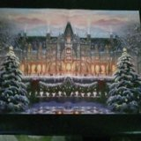 1000 piece Christmas puzzle in Fort Polk, Louisiana