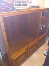 really nice solid build entertainment center in Fort Polk, Louisiana