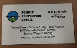 CONCEALED CARRY TRAINING CLASS in Fort Knox, Kentucky