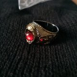 Red stone ring size 10 in Fort Polk, Louisiana
