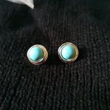 Round turquoise Style Earrings in Fort Polk, Louisiana