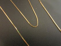 """NEW 14k Solid Gold Necklace 24"""" Box Chain 24"""" 2.8 GRAMS in Fort Campbell, Kentucky"""