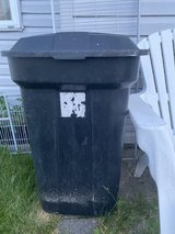 Trash can in Plainfield, Illinois
