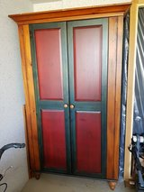 Beautiful Solid Wood Wardrobe/Pantry/Entertainment System Cabinet in Stuttgart, GE