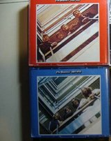 Beatles 62 thru70 red and blue  Apple cds in Westmont, Illinois