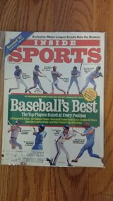 """""""Inside Sports"""" - 1987 (March-April-June) in Plainfield, Illinois"""