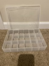 Small bead jewelry storage container in Joliet, Illinois
