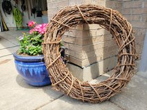 30 Inch Natural Grapevine Wreath in St. Charles, Illinois