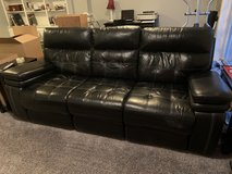 Double leather recliner Couch in Fort Belvoir, Virginia