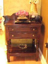 Antique Night Stand Entrance Table Side Table w/ Drawers in Melbourne, Florida