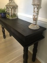 Wooden side table in Quantico, Virginia