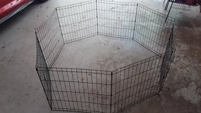METAL FOLD-UP PUPPY PLAY YARD--STILL AVAILABLE in Byron, Georgia