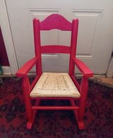 Red Child's Rocking Chair in Camp Lejeune, North Carolina