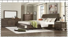 United Furniture - Eclipse Bed Set King Size - as shown with delivery in Wiesbaden, GE