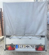 CAR TRAILER FOR SALE - NEW US SPECS - PERFECT CONDITION - in Ramstein, Germany