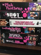 6 Pink Panther VHS tapes in Fort Leonard Wood, Missouri