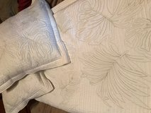 Queen Size Bedspread/Quilt and two matching pillows in Fort Leonard Wood, Missouri