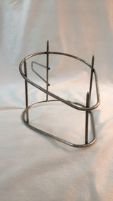 Sturdy stainless steel ham holder with spikes in Kingwood, Texas