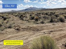 Elko, NV 2.07 Acres, Surveyed & Marked. Seller Financing Available. in Nellis AFB, Nevada
