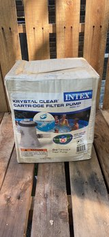 Intex Pool Pump With Filter in Beaufort, South Carolina