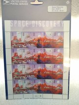 Year 1997 USPS Space Discovery Stamps in Wiesbaden, GE