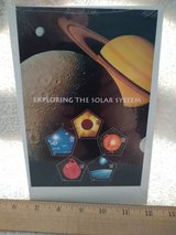 Year 2000 USPS Exploring the Solar System stamps in Wiesbaden, GE